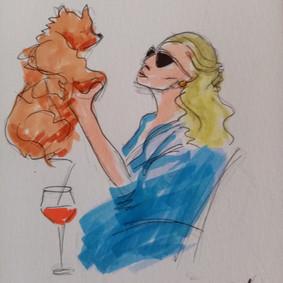 Best Friend, illustration Maria Burberry