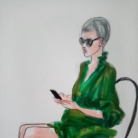Good book, illustration Maria Burberry