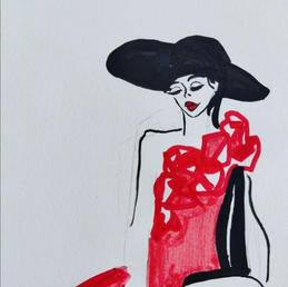 Red Rose, Maria Burberry