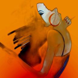Orange, by Maria Burberry