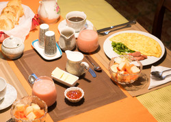 Fresh and Organic Breakfast