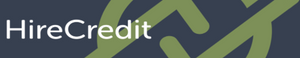 The HireCredit logo.