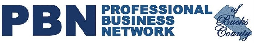 The logo for PBN Professional Business Network of Bucks County.