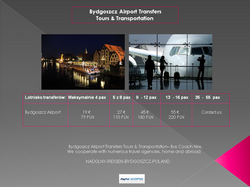 Bydgoszcz Airport Transfers Tours & Transportation