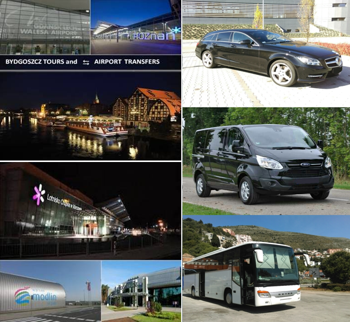 Bydgoszcz Tours and Airport Transfers-Bus Coach Transport Lotnisko