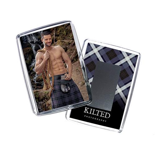 Men in Kilts Fridge Magnet (Paul)