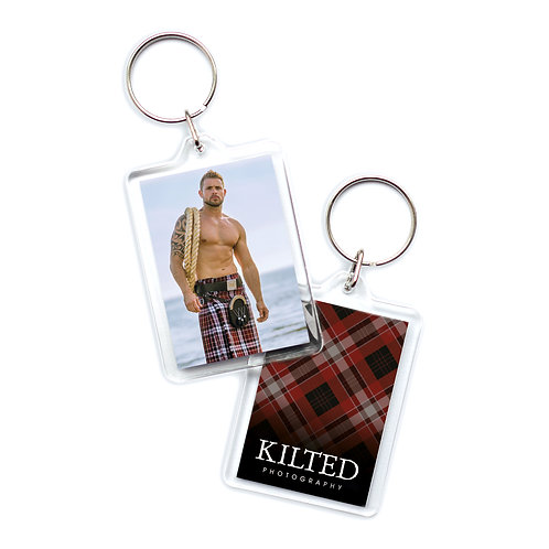 Men in Kilts Keyring (Mike)