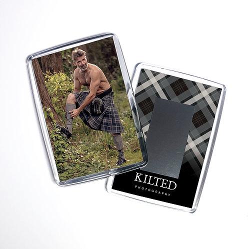 Men in Kilts Fridge Magnet (Keith)