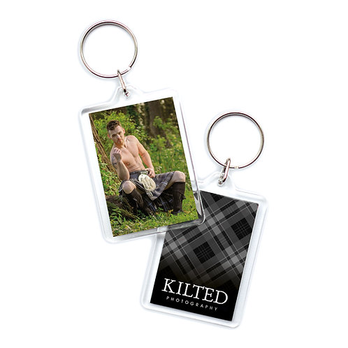 Men in Kilts Keyring (Ashley)