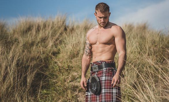 Men in Kilts Calendar Photo