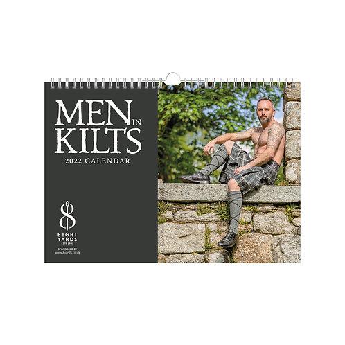 Men in Kilts Calendar 2022 A4