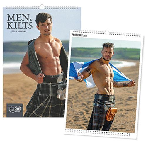 Men in Kilts Calendar A3 2020