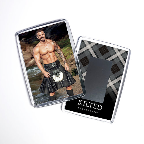 Men in Kilts Fridge Magnet (Tom)