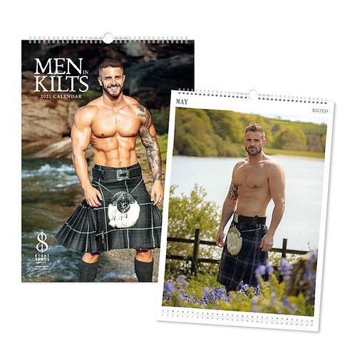 Men in Kilts Calendar 2021