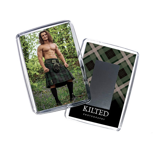 Men in Kilts Fridge Magnet (Josh)