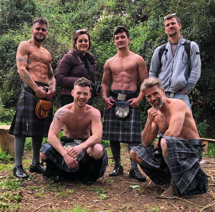 Men in Kilts Photoshoot