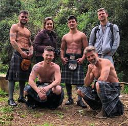 Men in Kilts Photoshoot