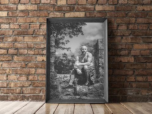 B&W Print A3/A4/5x5 - Damien