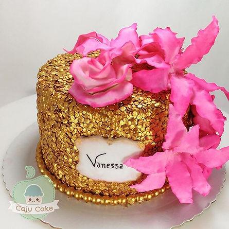 Um bolinho super fino para a Vanessa!