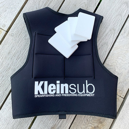Vest - 4 pockets  with 4 x 900 lead