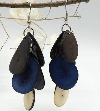 Tagua Black Blue Beige