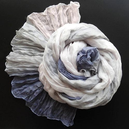Seta-Crash Rosa chiaro-Grigio chiaro-Jeans