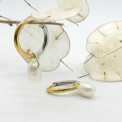 Circle Two-tone pearl
