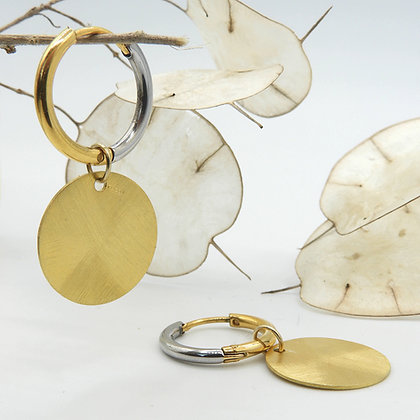 Circle Two-tone Gold
