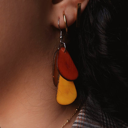 Tagua Yellow Red
