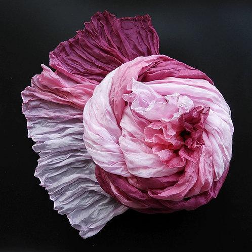Seidencrash Himbeer-Rosa