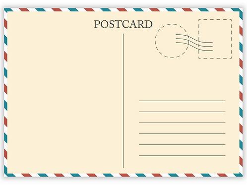 Official EAF Postcard Set
