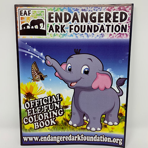 Official EAF Coloring Activity Book
