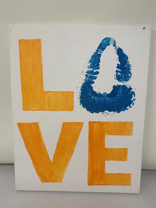 Love 11x14 Canvas