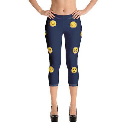Capri Leggings - emoji