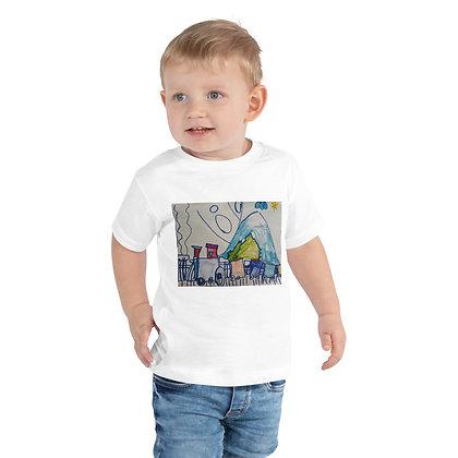 Toddler Short Sleeve Tee - train