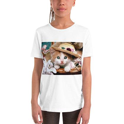 Short Sleeve T-Shirt - cat design