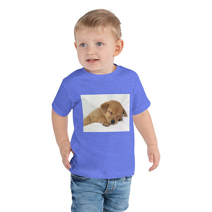 Toddler Short Sleeve Tee - puppy