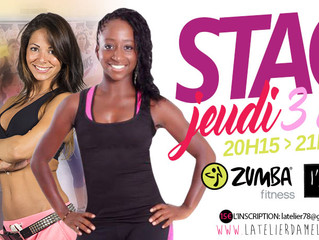 STAGE ZUMBA®/AFRO SPECIAL VACANCES