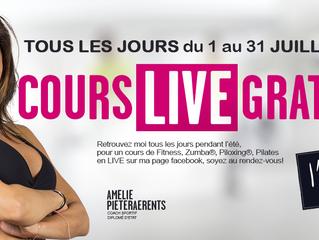COURS LIVE GRATUIT TOUT LE MOIS DE JUILLET