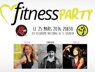Vélodrome Fitness Party le 25 mars 2016