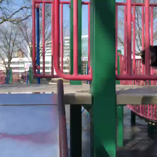 Wait for it.... The Slide!