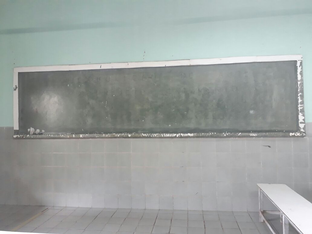 Forgotten blackboard