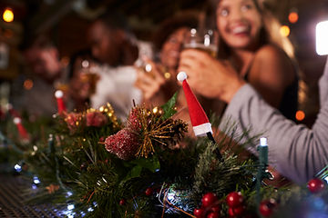 Vánoční Tablescape