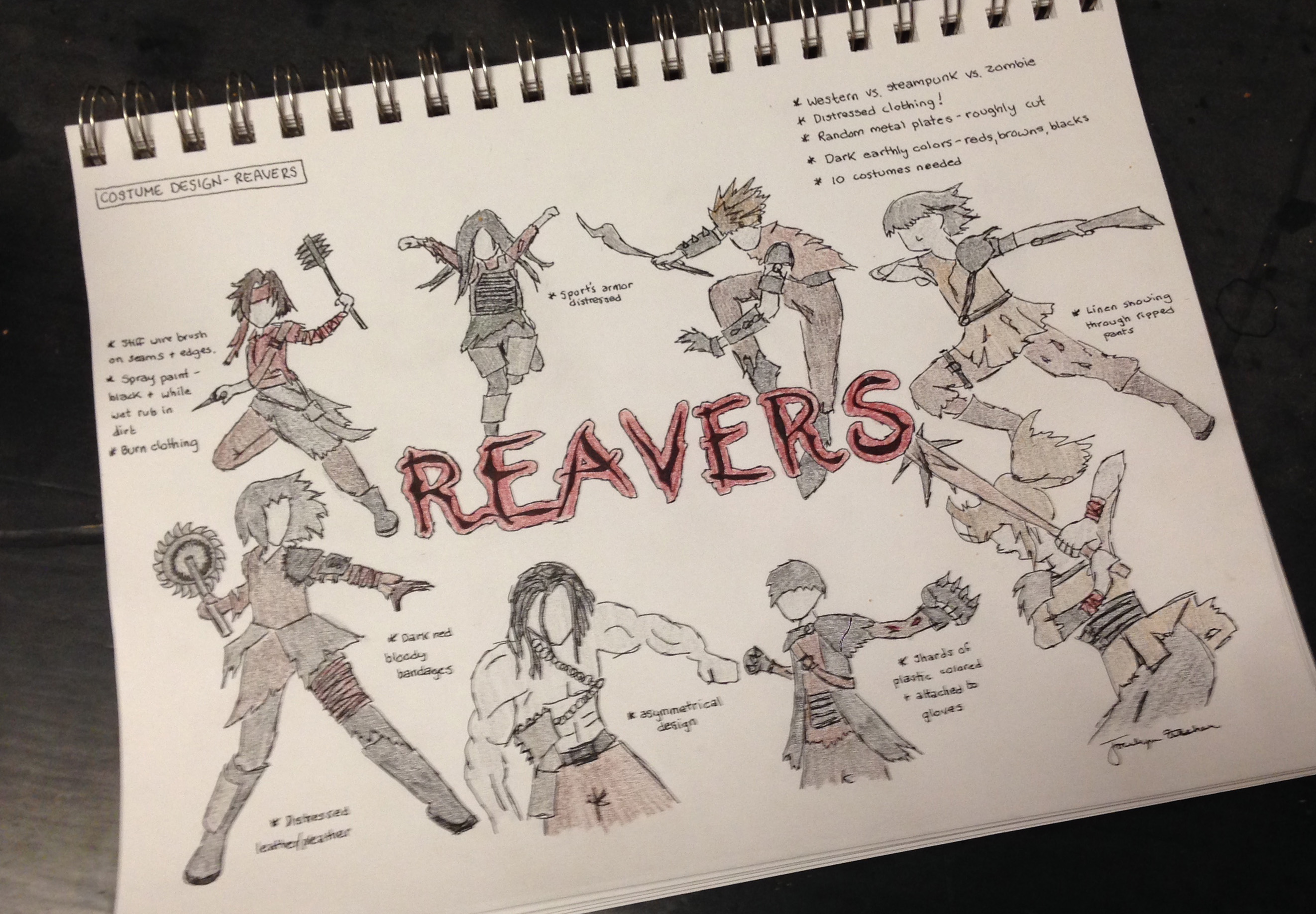 reavers drawing