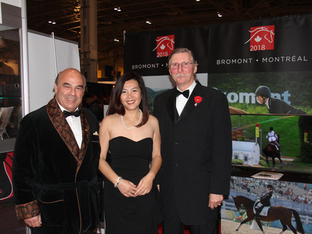 在2014年加拿大皇家冬季农业博览会上加拿大华人媒体对加拿大马业(EC)主席和加中马术,赛马及马球协会(CCERPA)的采访。