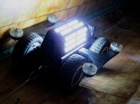 Arthbot Crawler Internal Blade Inspectio