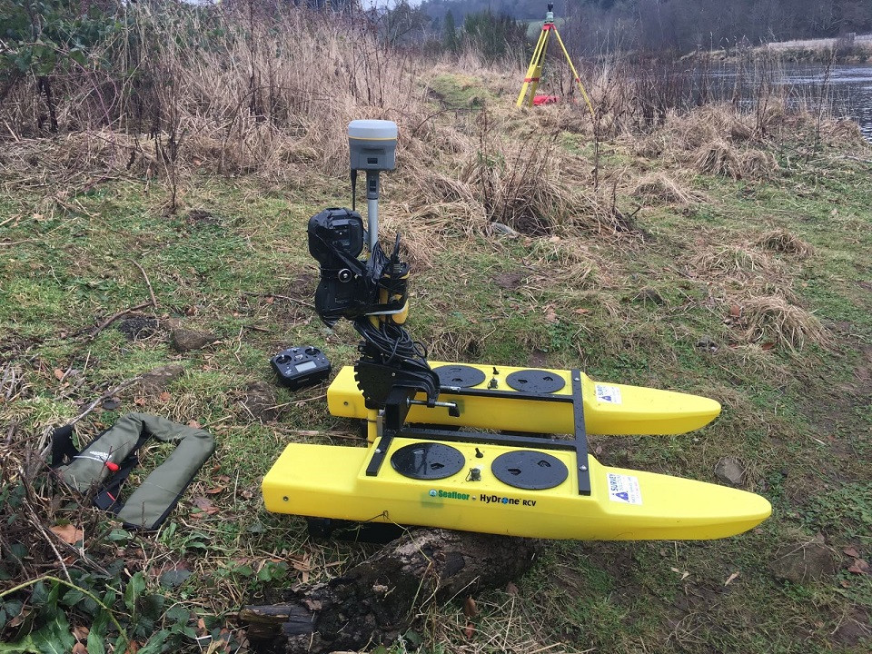 River Bed Hydrographic Innovair; Hydrogr