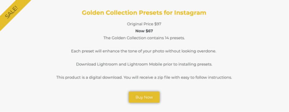 Photogrphy Presets for Lightroom desktop and mobile app.