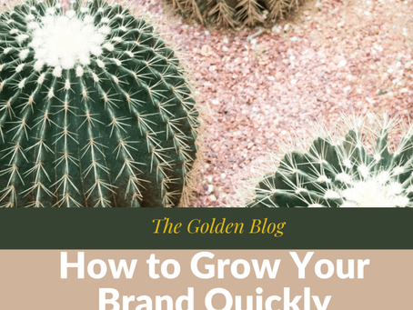 How to grow your brand quickly