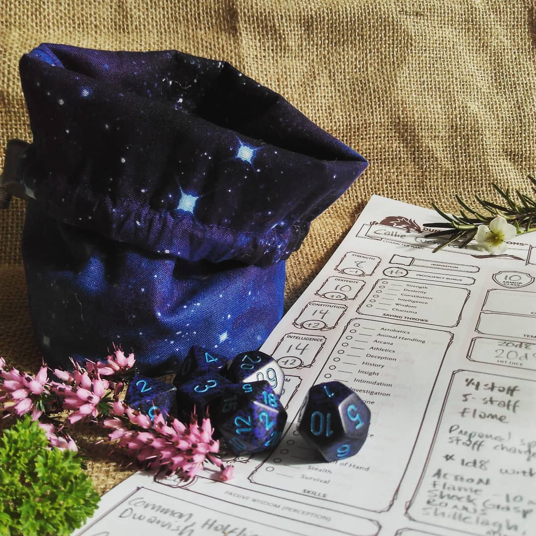 Space Dice Bag